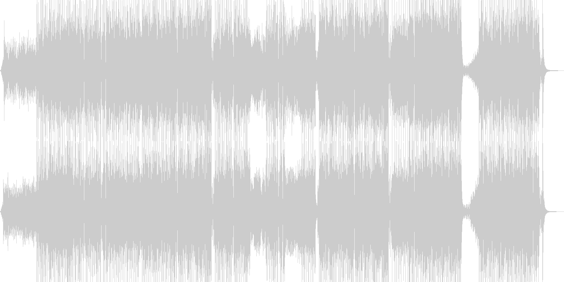 胸キュン・可愛い雰囲気のポップス 長尺+の未再生の波形