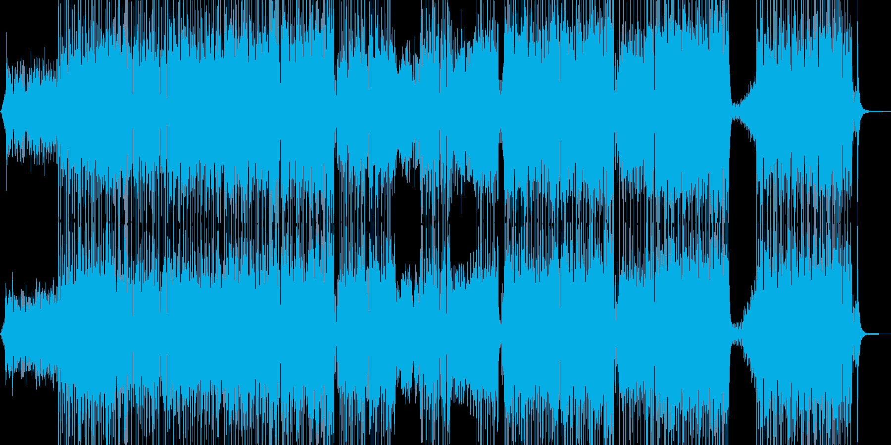 胸キュン・可愛い雰囲気のポップス 長尺+の再生済みの波形