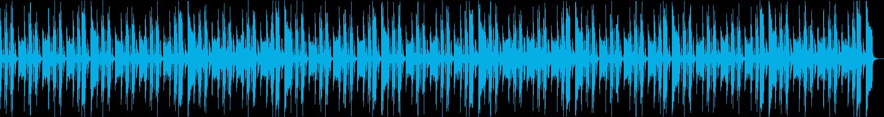 コミカルいたずらかわいい楽しいCM aの再生済みの波形