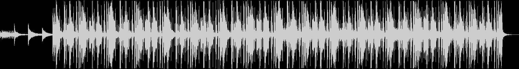 洋楽系のHip-Hopの未再生の波形