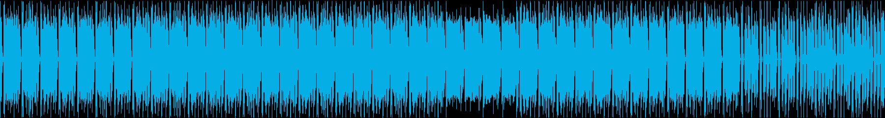 哀愁漂うピアノコードのヒップホップの再生済みの波形