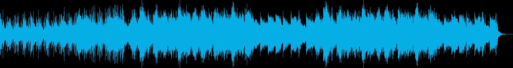 企業VPや映像に未来・華やかピアノBGMの再生済みの波形