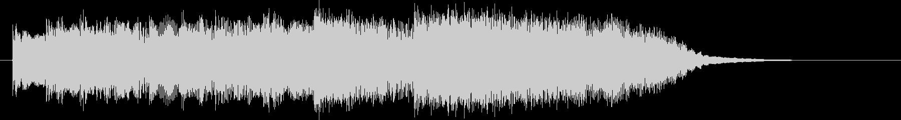 電子音メロディアスの未再生の波形