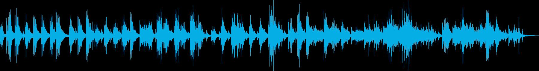 幸せな時間(ピアノソロ・ゆったり)の再生済みの波形