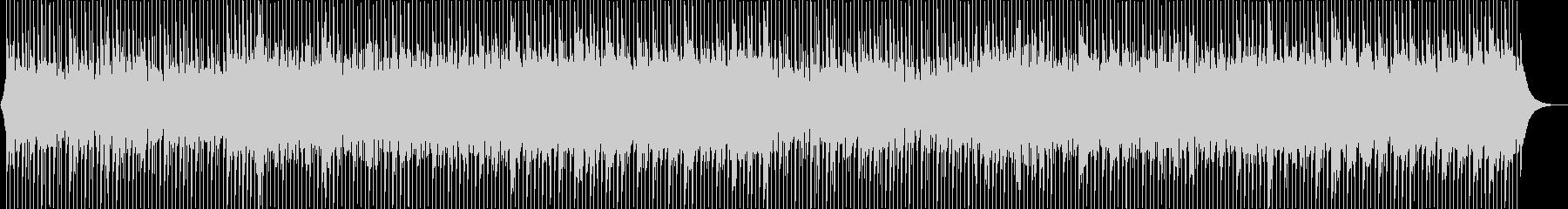 爽やかなアコースティックなBGMの未再生の波形