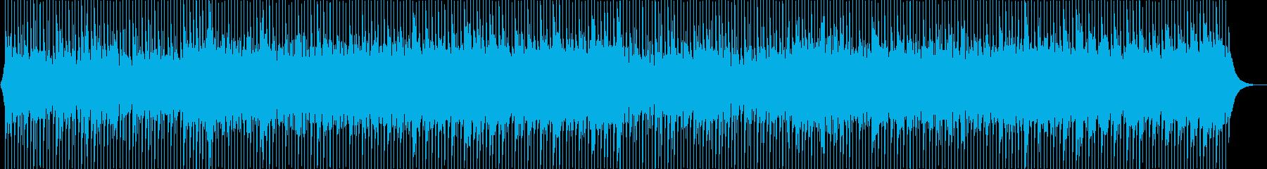 爽やかなアコースティックなBGMの再生済みの波形