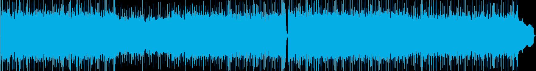 爽やかギターロック 活力あるCM、動画にの再生済みの波形