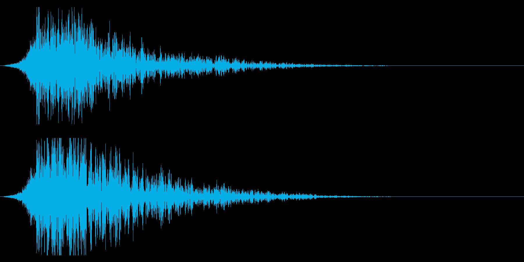 シュードーン-20-2(インパクト音)の再生済みの波形