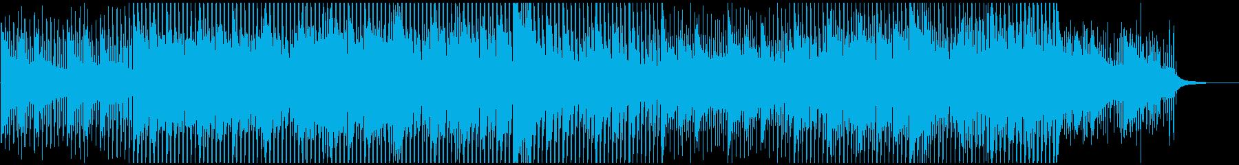 若々しいスピード感の再生済みの波形