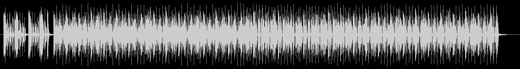 キャッチ―でリズミカルなシンセサウンドの未再生の波形