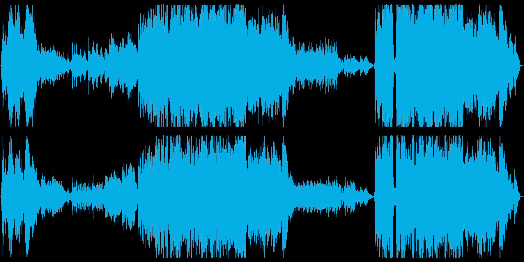ポップに聞ける壮大なオーケストラの再生済みの波形