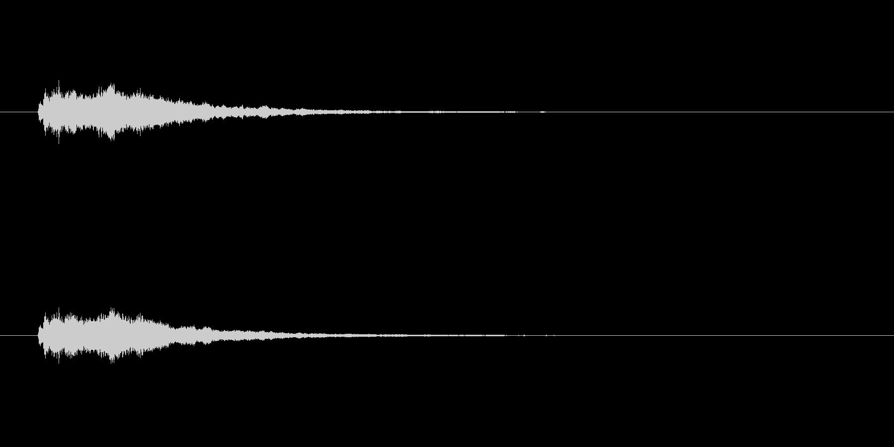 【競技用ゴング02-5】の未再生の波形