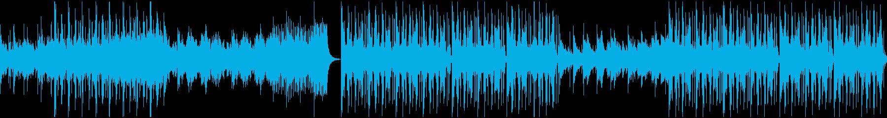 ずっと聞いていられる気持ちいい清涼感の曲の再生済みの波形
