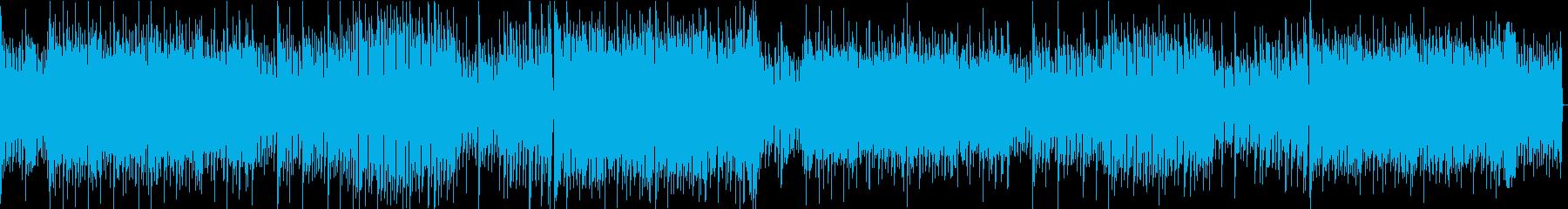 近未来のSF戦闘曲/浮遊感/クールな印象の再生済みの波形
