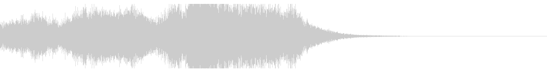 金管_壮大なファンファーレの未再生の波形