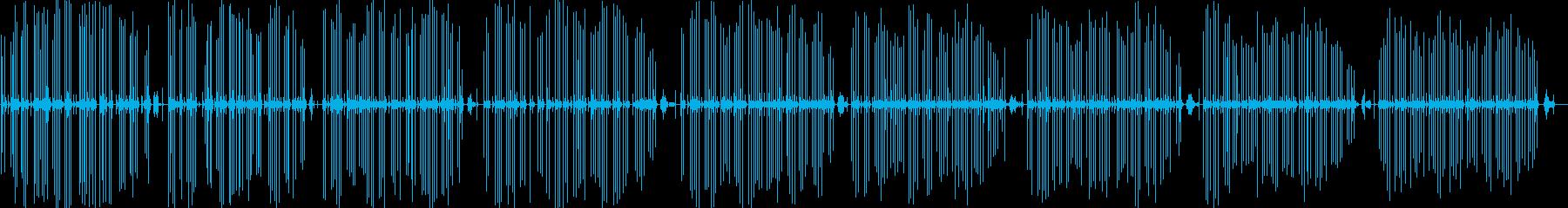 古典的なタイプライターをすばやく入力するの再生済みの波形