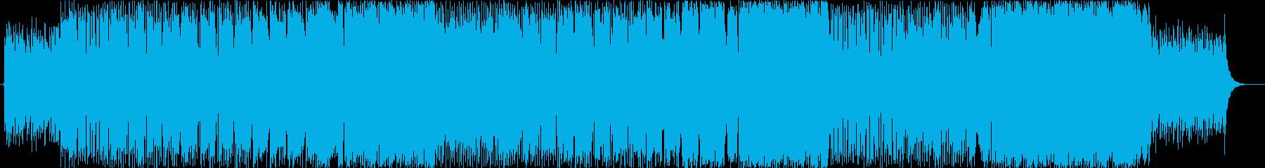 何処となく懐かしい感じの歌物楽曲。の再生済みの波形
