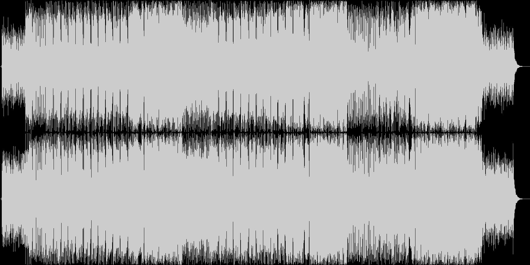 【フル】何処となく懐かしい感じの歌物楽曲の未再生の波形