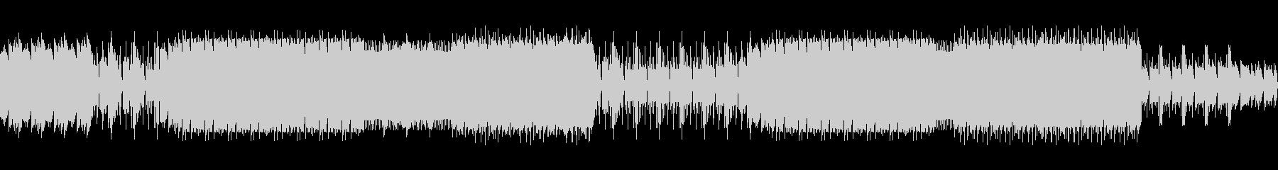 8ビットゲームサウンドBGM 02の未再生の波形