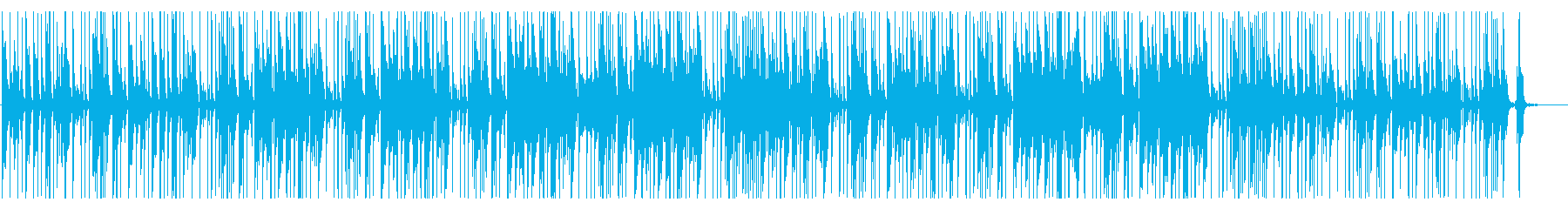 リズミカル 工場 ダンジョン ピアノの再生済みの波形