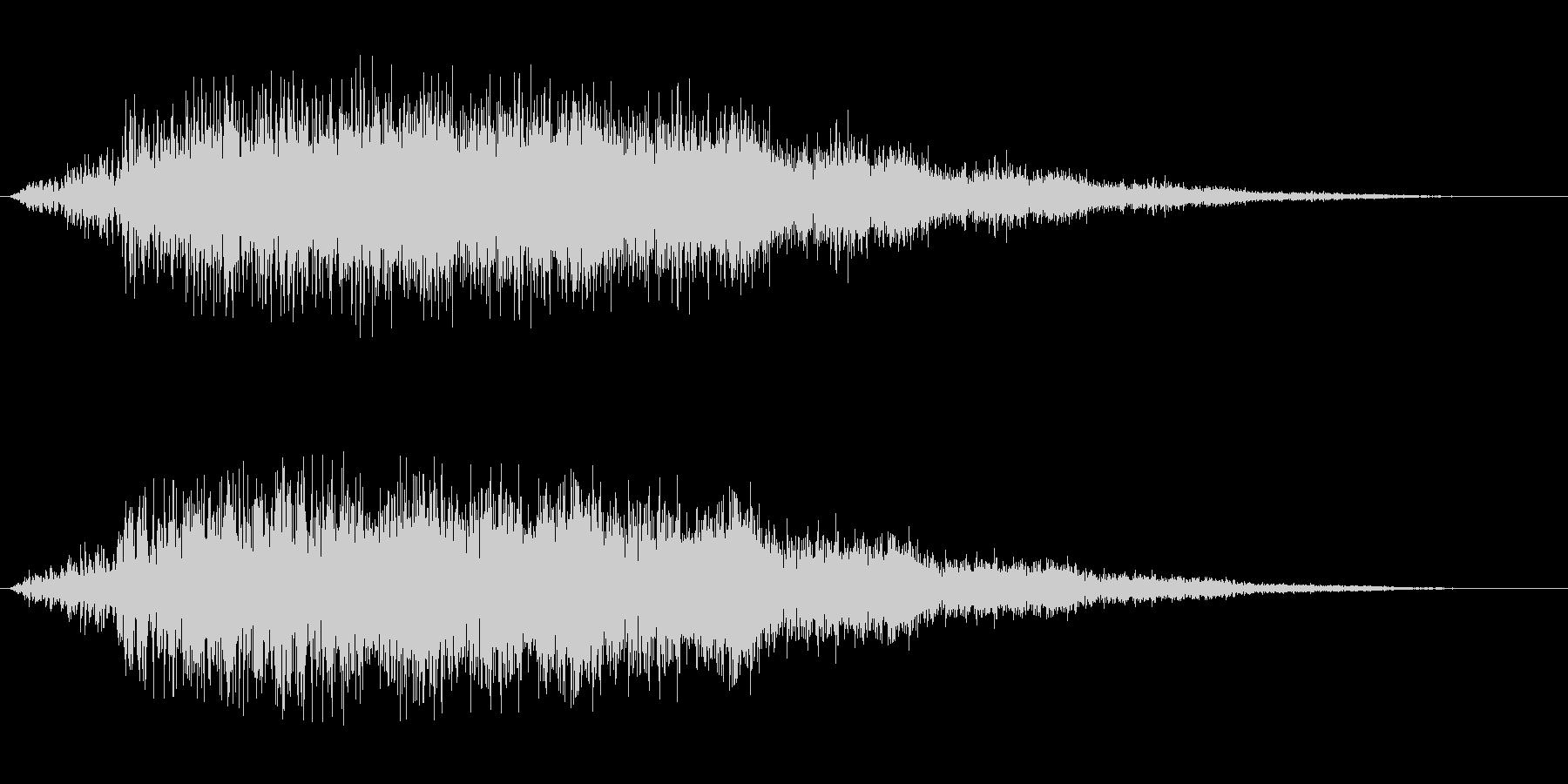 シャラララ(魔法等二次元に有効な音)の未再生の波形