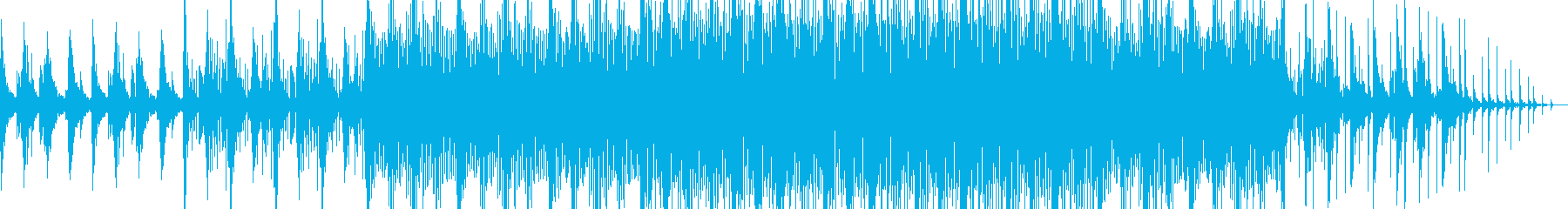 幻想的な雰囲気の切ないエレクトロニカの再生済みの波形