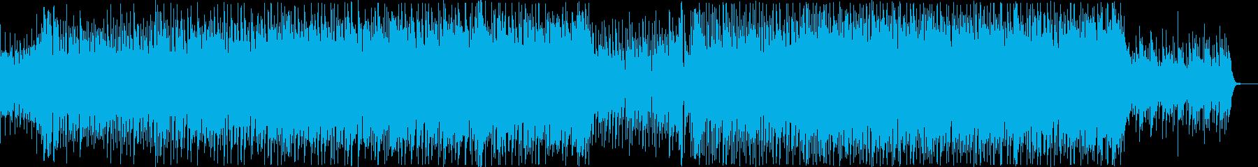 爽やか透明感ピアノフルートコーポレートAの再生済みの波形