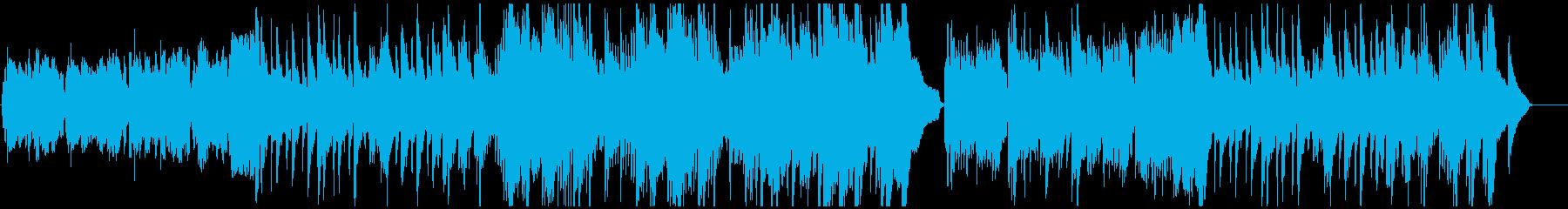 和風BGM・せつない雰囲気の再生済みの波形
