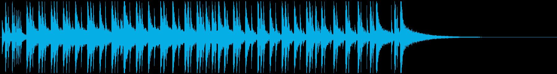 ドラムジングル ロックでパワフルな疾走感の再生済みの波形