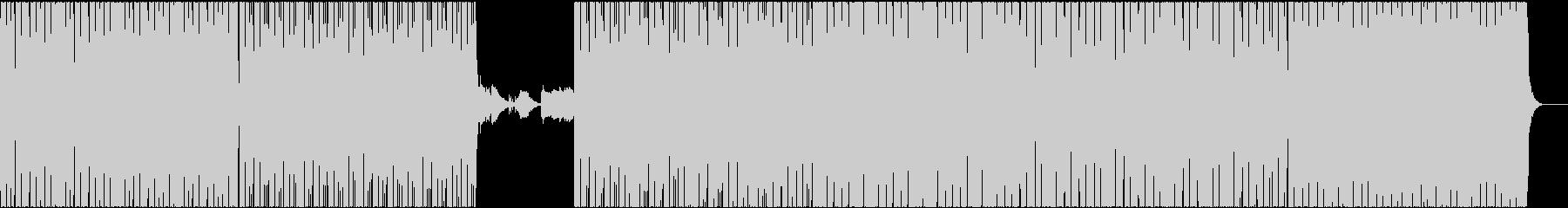 特殊なリズムののJAZZ,HIP-HOPの未再生の波形