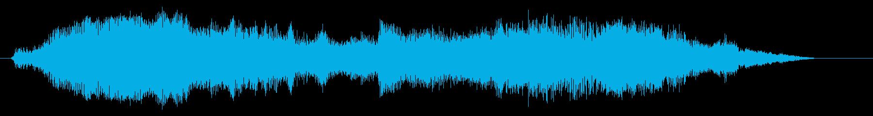 船内/船外船;スタート/回転/アウ...の再生済みの波形