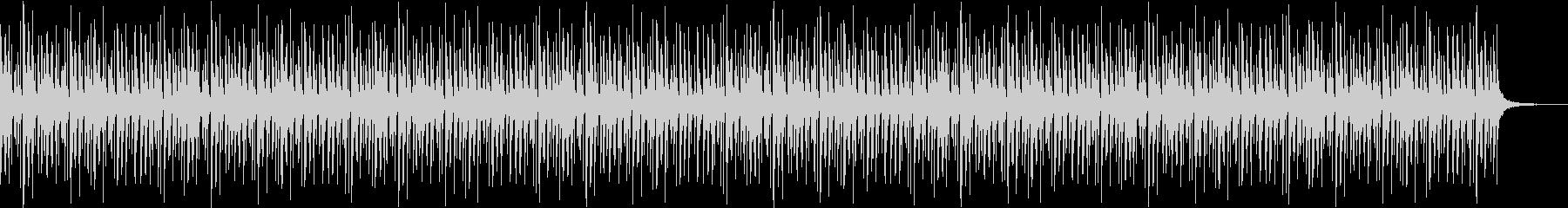 ストリングピッチカートの楽しいループ曲の未再生の波形