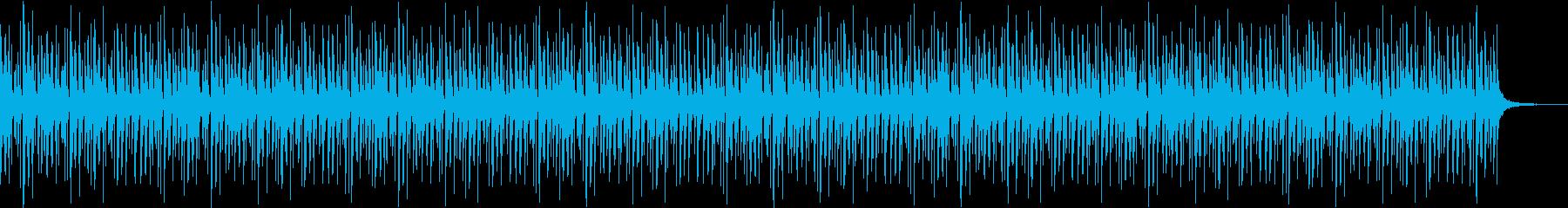 ストリングピッチカートの楽しいループ曲の再生済みの波形