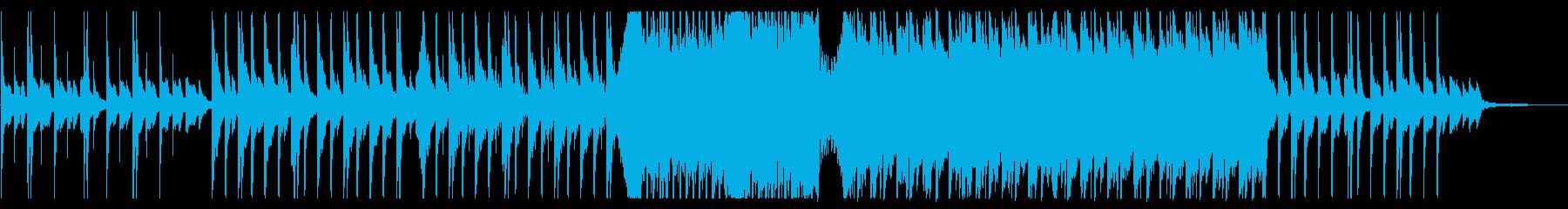 企業VP 切なく壮大に盛り上がるピアノ曲の再生済みの波形