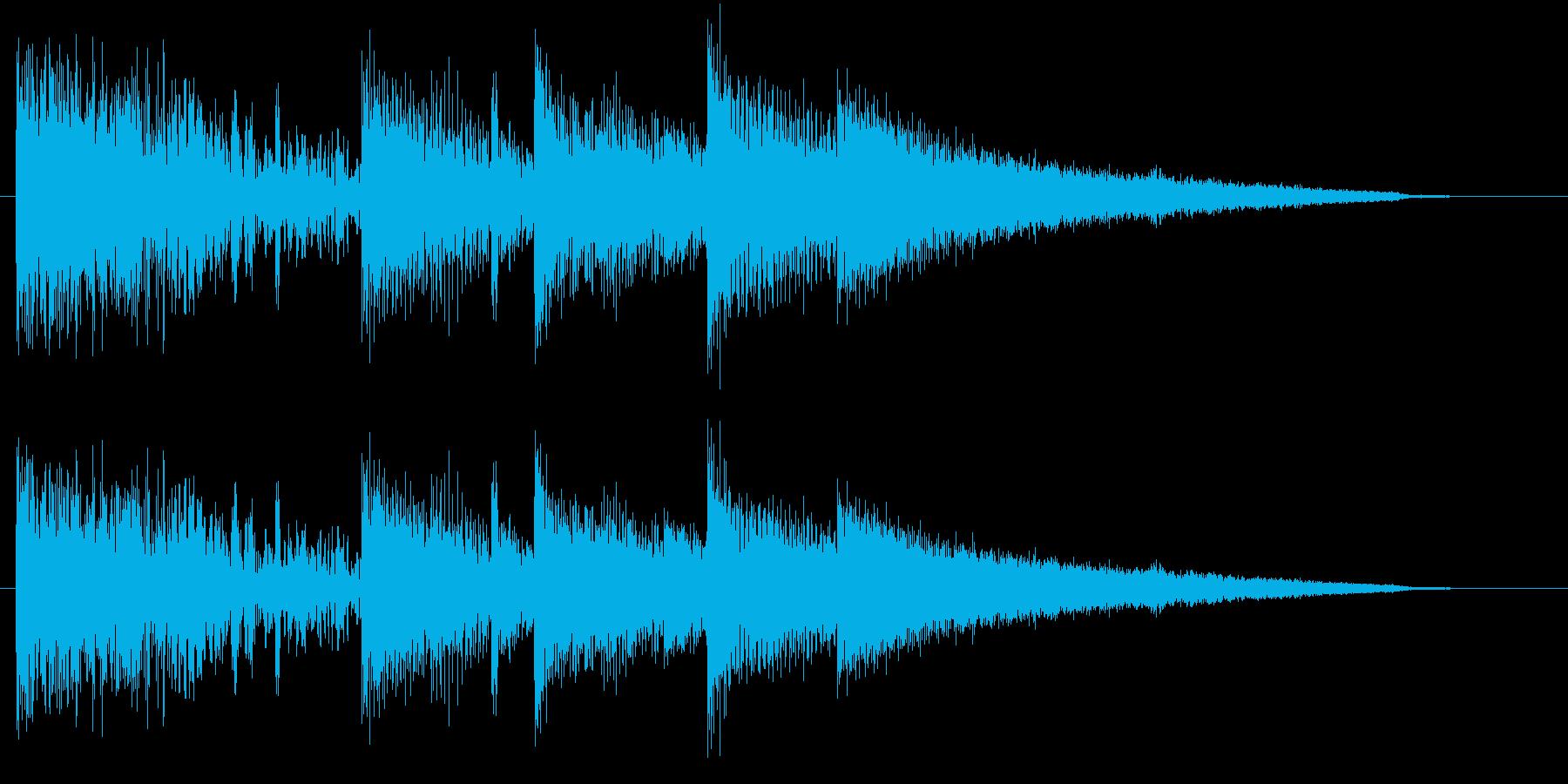 メロウでアダルトな雰囲気のR&Bジングルの再生済みの波形