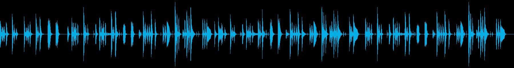 日常のあれこれの再生済みの波形