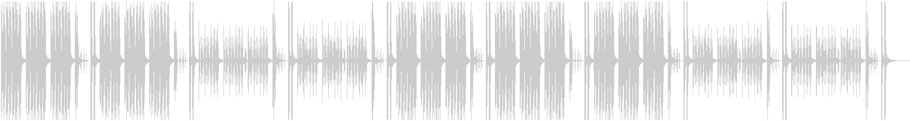 Light and comical BGM's unreproduced waveform