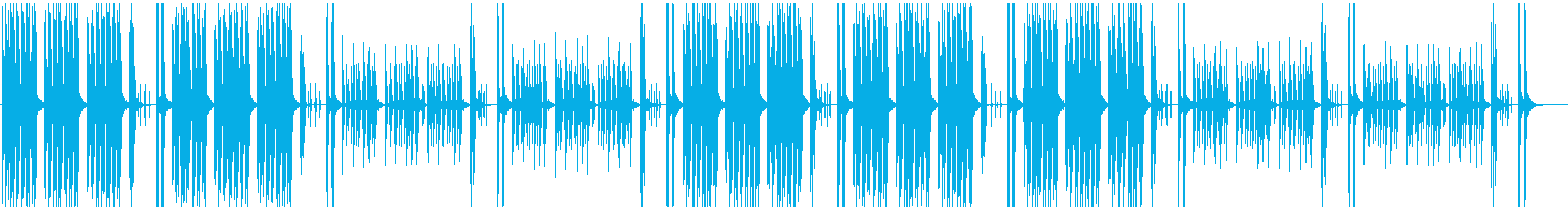 Light and comical BGM's reproduced waveform