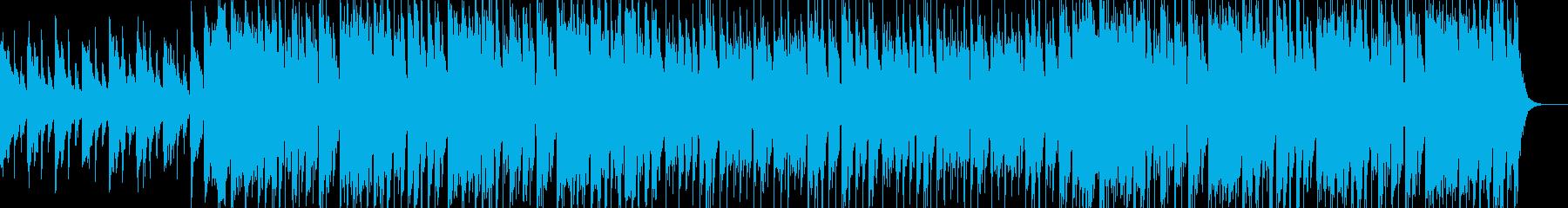 ストリングス、オシャレなハウスのんの再生済みの波形