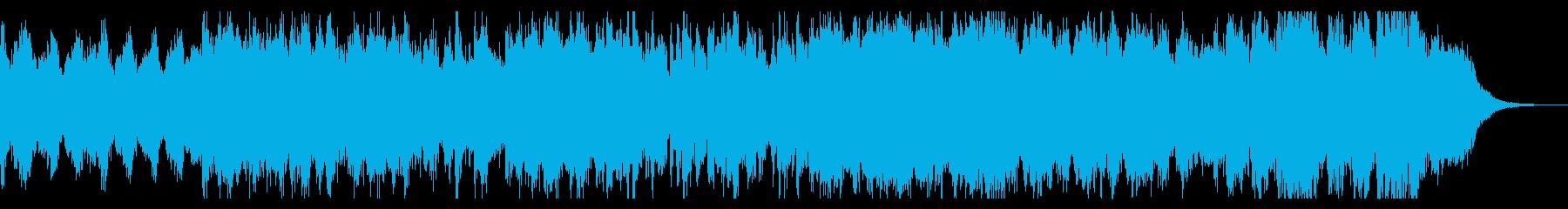 闘技場をイメージしたオーケストラBGMの再生済みの波形