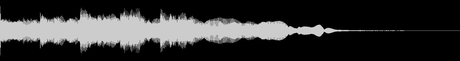 企業ロゴ、タイトルロゴ名等の使用を想定の未再生の波形