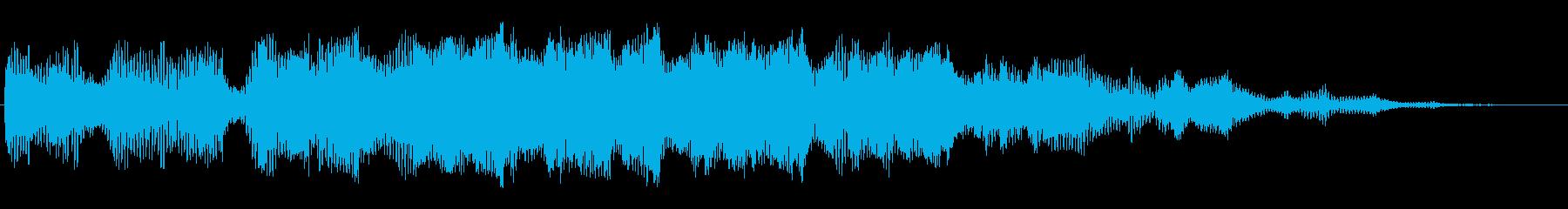 キュイーン(神秘的)の再生済みの波形