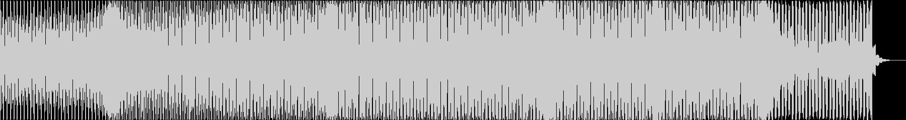 疾走感のあるシンプルなリフのEDMの未再生の波形