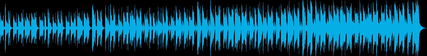 爽やかゆったりほのぼの軽快なボサノバbの再生済みの波形