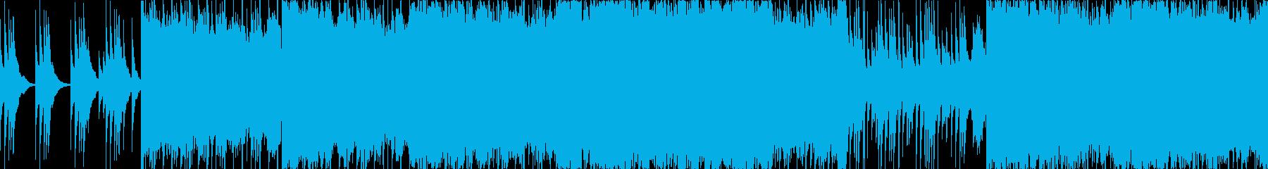 エキゾチックで荘厳な雰囲気【ループ仕様】の再生済みの波形