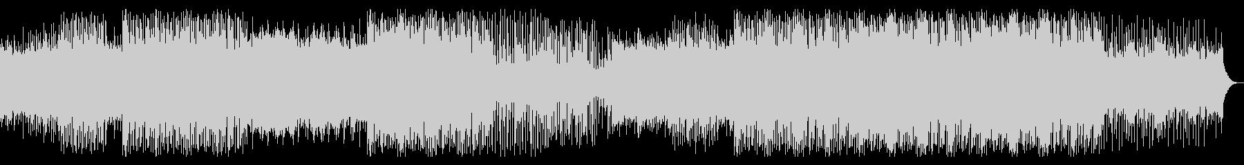 インド系の民族音楽風BGMの未再生の波形