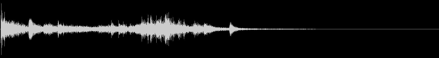 スモールウィンドウ:スマッシュインパクトの未再生の波形