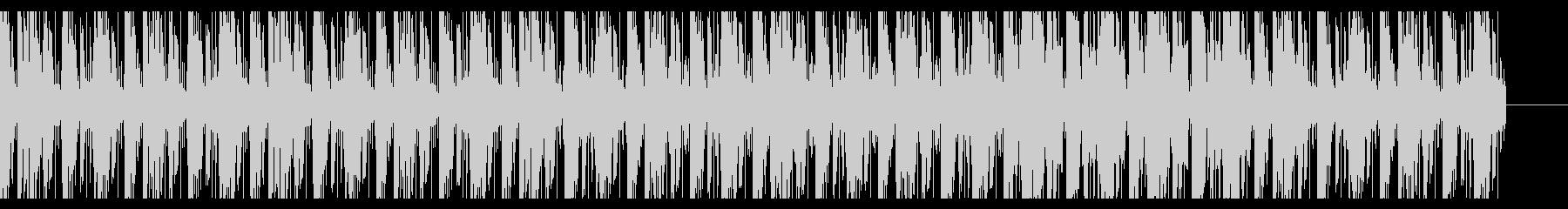 ローファイヒップホップの未再生の波形