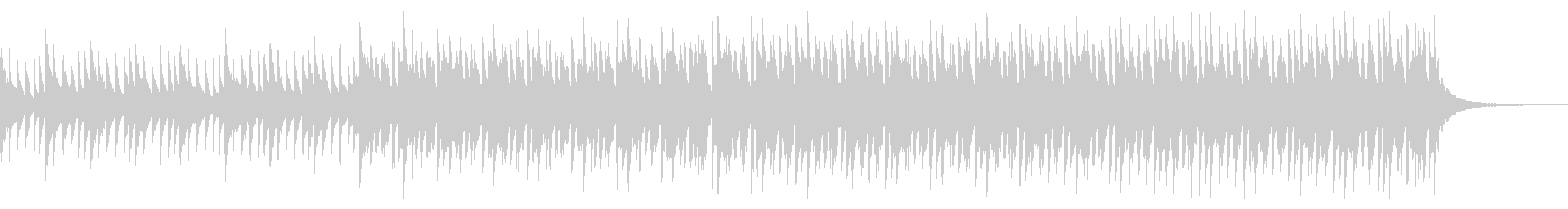 ショートver ゆったり ピアノ&鉄琴の未再生の波形