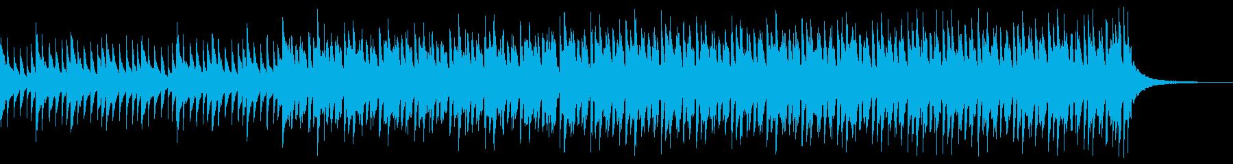 ショートver ゆったり ピアノ&鉄琴の再生済みの波形